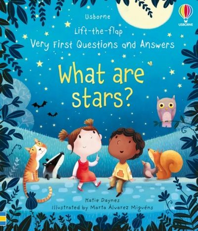 Lift-The-Flap Very First Questions And Answers: What Are Stars?