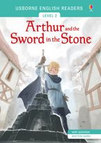 ENGLISH READERS ARTHUR AND THE SWORD IN THE STONE Paperback  by MAIRI MACKINNON