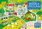 Usborne Book and Jigsaw On The Farm Hardcover  by Kirsteen Robson