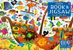AN USBORNE JIGSAW WITH A BOOK   UNDER THE SEA Hardcover  by Kirsteen Robson