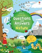LIFT-THE-FLAP QUESTIONS AND ANSWERS ABOUT NATURE Hardcover  by Katie Daynes