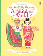 STICKER DOLLY DRESSING AROUND THE WORLD Paperback  by Emily Bone