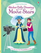 Sticker Dolly Dressing Movie Stars Paperback  by Fiona Watt