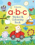 ABC Sticker and Colouring Book Paperback  by Jessica Greenwell