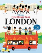 First Sticker Book London Paperback  by James Maclaine