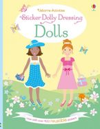 Sticker Dolly Dressing Dolls Paperback  by Fiona Watt