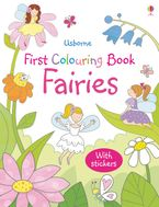 FIRST COLOURING BOOK FAIRIES Paperback  by Jessica Greenwell
