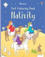 Felicity Brooks - First Colouring Book Nativity