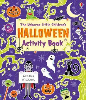 Cover image - Little Children's Halloween Activity Book