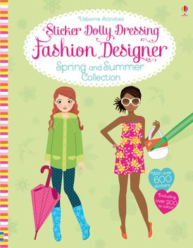 Sticker Dolly Dressing Fashion Designer Sprng And Summer Collection