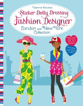 Sticker Dolly Dressing Fashion Designer London and New York Collection