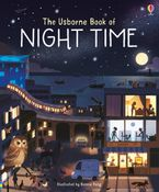 Usborne Book Of Night Time Hardcover  by Laura Cowan