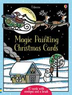 MAGIC PAINTING CHRISTMAS CARDS Hardcover  by Fiona Watt