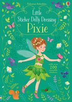 LITTLE STICKER DOLLY DRESSING PIXIE Paperback  by Fiona Watt