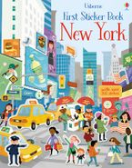 FIRST STICKER BOOK NEW YORK Paperback  by James Maclaine