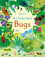 FIRST STICKER BOOK BUGS Paperback  by Holly Bathie
