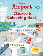 Airport Sticker and Colouring Book - Simon Tudhope