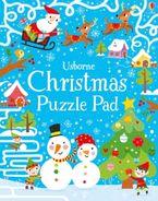 CHRISTMAS PUZZLE PAD Paperback  by Simon Tudhope