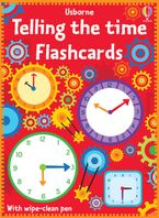 Telling The Time Flash Cards Paperback  by Sam Smith