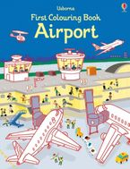 First Colouring Book Airport Paperback  by Simon Tudhope