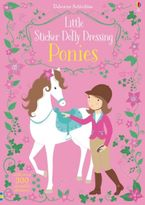 LITTLE STICKER DOLLY DRESSING PONIES Paperback  by Fiona Watt
