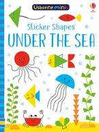 Sticker Shapes Under The Sea Paperback  by Sam Smith