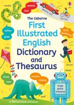 First Illustrated Dictionary and Thesaurus Paperback  by Jane Bingham