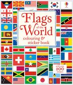 Flags of the World Colouring & Sticker Book - Susan Meredith