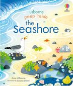 Peep Inside: Peep Inside The Seashore Hardcover  by Anna Milbourne