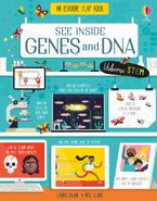 See Inside Genes And DNA Hardcover  by Laura Cowan