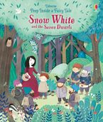 Peep Inside A Fairy Tale Snow White And The Seven Dwarves Hardcover  by Anna Milbourne