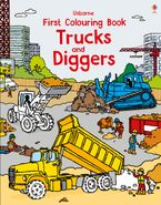 First Colouring Book Trucks And Diggers Paperback  by TBC