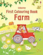 First Colouring Book Farm Paperback  by Jessica Greenwell