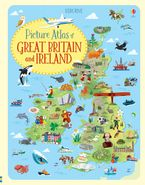 Picture Atlas Of Great Britain And Ireland Paperback  by JONATHAN MELMOTH