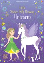 Little Sticker Dolly Dressing Unicorns Paperback  by Fiona Watt