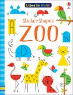 Sticker Shapes Zoo Paperback  by Sam Smith