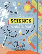Science Scribble Book Hardcover  by Alice James