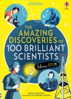 100 Great Scientists Hardcover  by ABIGAIL WHEATLEY