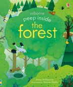 Peep Inside a Forest Paperback  by Anna Milbourne