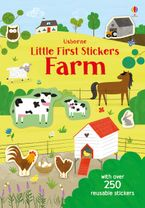 Little First Stickers Farm Paperback  by Jessica Greenwell