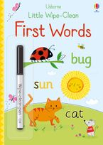 Little Wipe Clean First Words Paperback  by Felicity Brooks