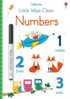 Little Wipe Clean Numbers Paperback  by BROOKS FELICITY