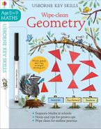 Wipe-Clean Geometry 8-9 Paperback  by Holly Bathie