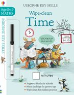Wipe Clean Time 8-9 Paperback  by Holly Bathie
