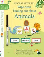 Key Skills Wipe Clean Finding Out About Animals 6-7 Paperback  by HANNAH WATSON