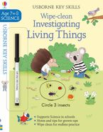 Wipe Clean Investigating Living Things 7-8 Paperback  by HANNAH WATSON