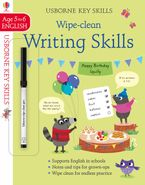 Wipe Clean Writing Skills 5-6 Paperback  by Caroline Young