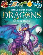 Build Your Own Dragons Sticker Book Paperback  by Simon Tudhope