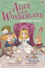 Alice In Wonderland Graphic Novel Paperback  by Russell Punter