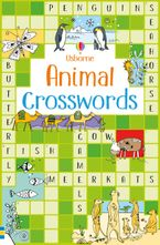 Animal Crosswords Paperback  by Phillip Clarke